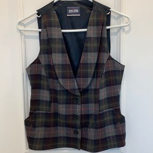 Jean Paul Gaultier Tartan Vest Size 42